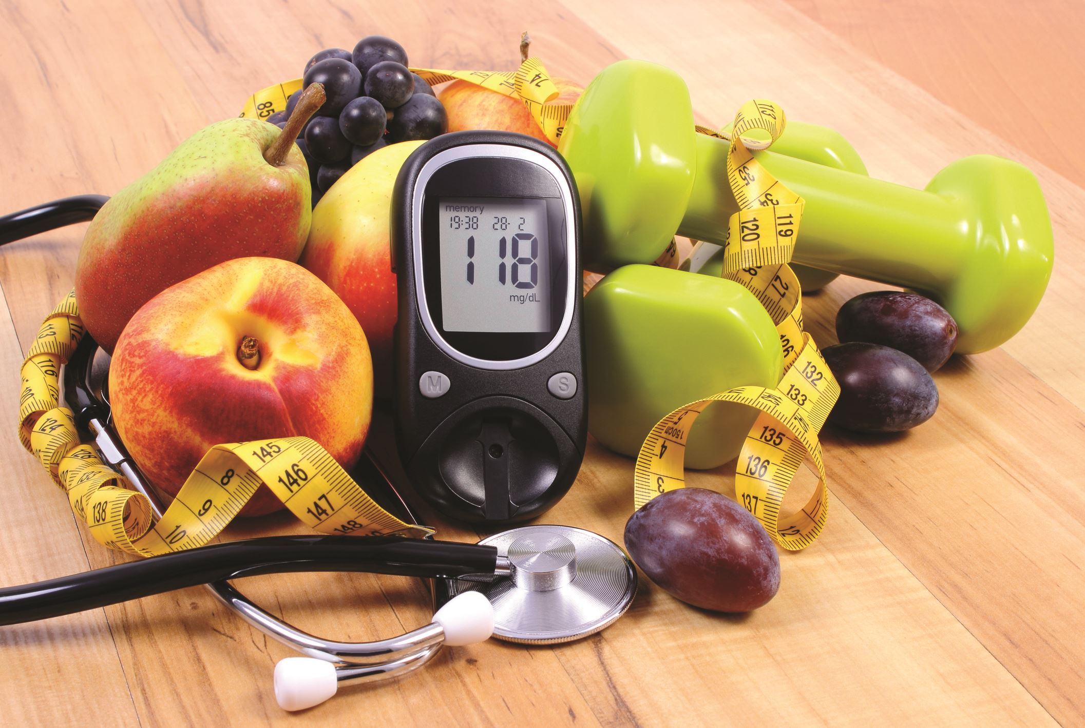 Glucose Meter Food Weights